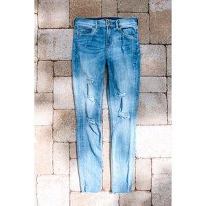 Express skinny jeans